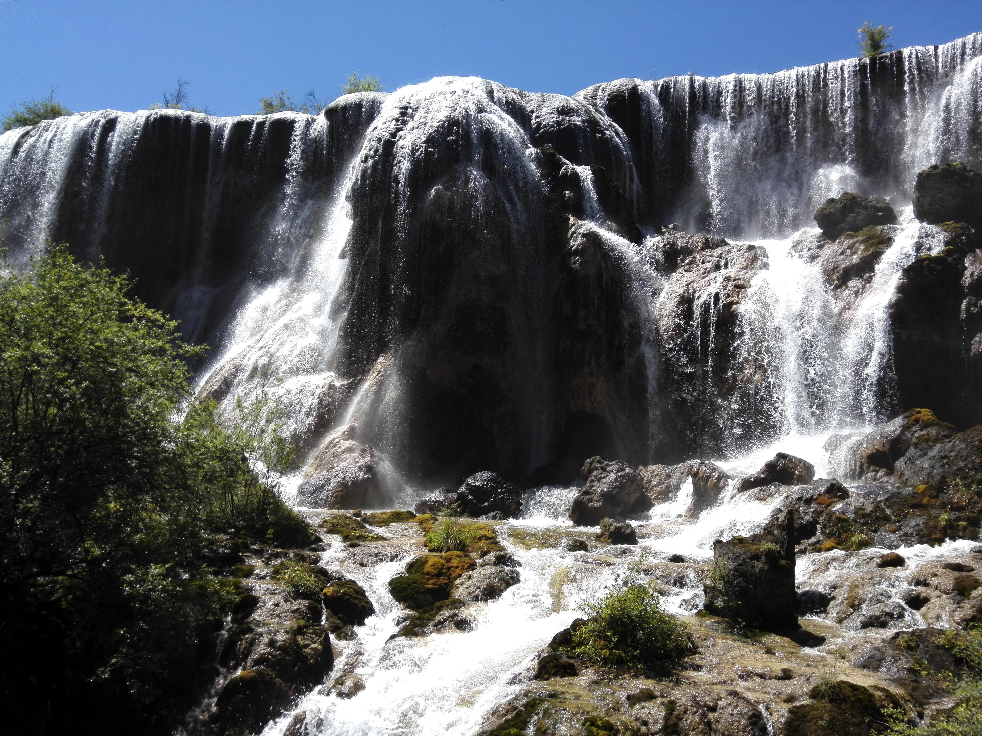 西游记外景珍珠滩瀑布