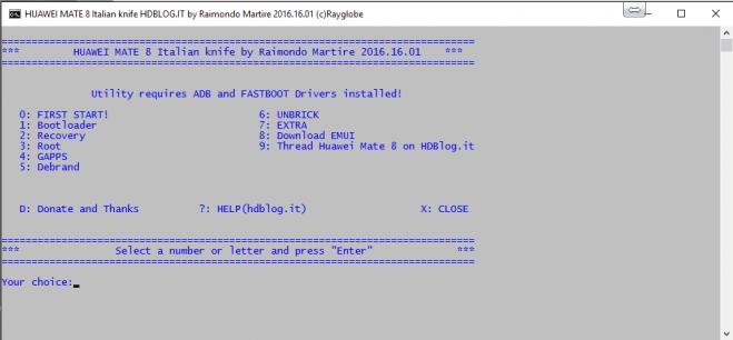 XDA搬运】Mate8一键ROOT及REC万能工具箱- 华为Mate8REC固件花粉