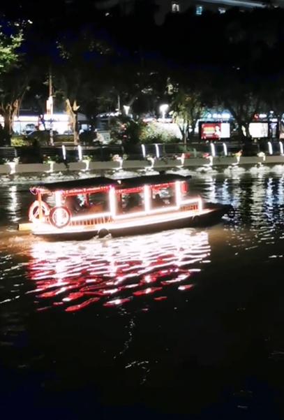 夜游船,新影像•手机影片竞赛-花粉俱乐部