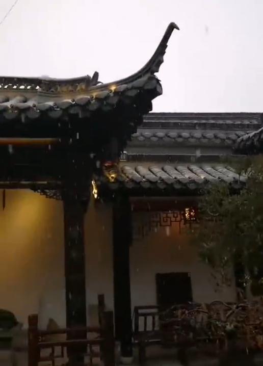 冬季到扬州来看雪,华为Mate9系列-花粉俱乐部