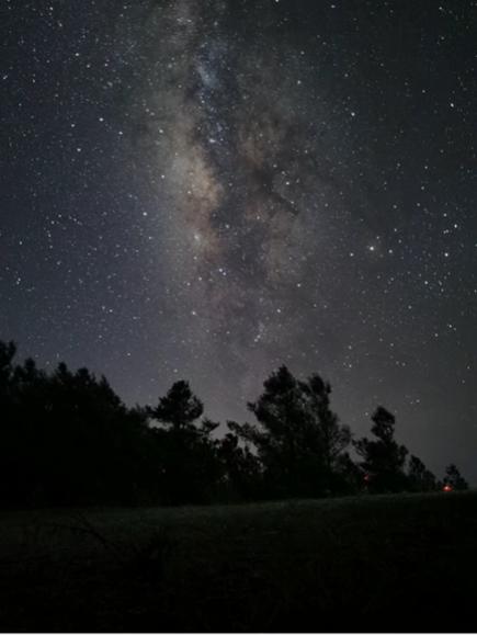 超详细的手机拍银河和延时拍银河教程,花粉随手拍-花粉俱乐部