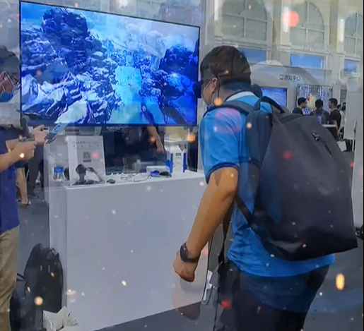 VR游戏玩起来就是这么high!!!,AR&VR-花粉俱乐部