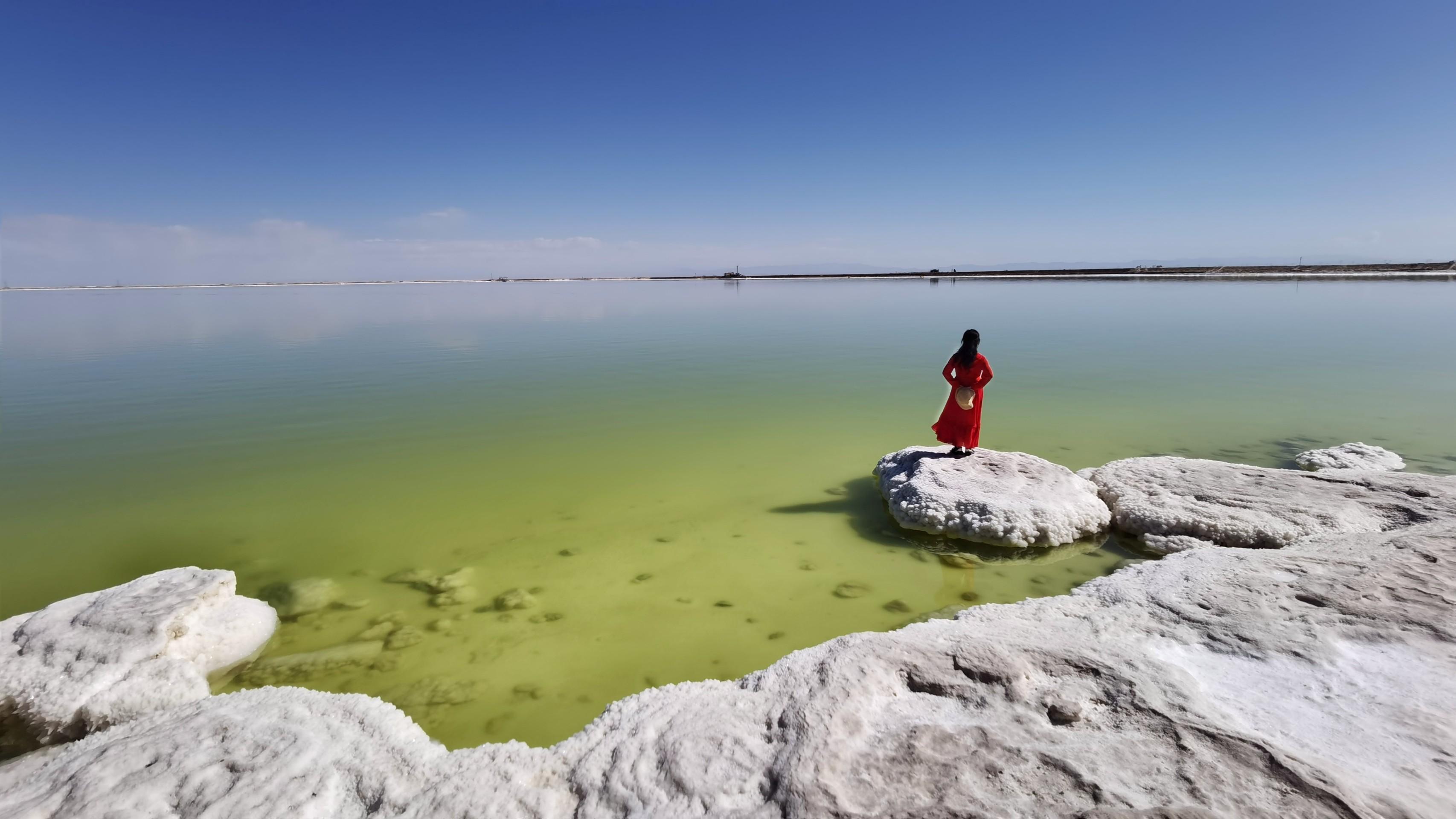 青海行#察尔汗盐湖,花粉随手拍-花粉俱乐部