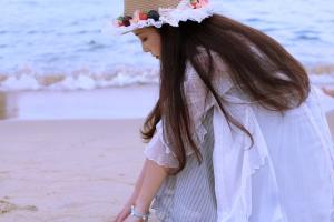 【花粉女生】海的颜色,花粉随手拍-花粉俱乐部