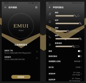 【主题爱好者】豪华质感《酷金黑》适配EWUI10.0系统,主题爱好者-花粉俱乐部