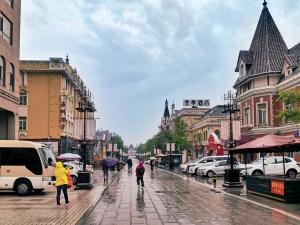 大连俄罗斯风情街,花粉随手拍-花粉俱乐部