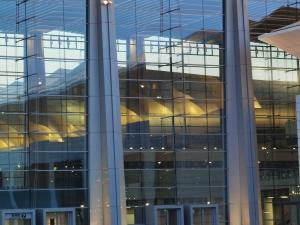 P40镜头下的西安浐灞新国际会展中心,花粉随手拍-花粉俱乐部