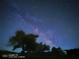 曾经的机皇——HUAWEI P9镜头下的夏夜银河,花粉随手拍-花粉俱乐部