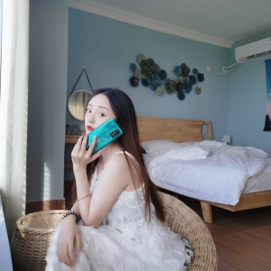 """""""会飞""""的小仙女,白色仙女裙+绿野仙踪,活脱脱一只出走的夏日精灵!,花粉随手拍-花粉俱乐部"""