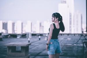【华为P40】城市屋顶,花粉随手拍-花粉俱乐部