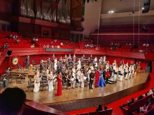 【花粉女生】庆祝深圳特区建立40周年大型民族管弦乐专场音乐会,花粉随手拍-花粉俱乐部