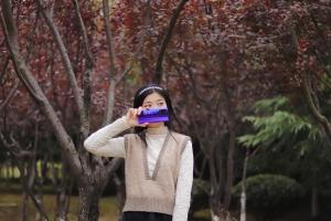 【荣耀30Pro】初冬里的一抹紫色,花粉随手拍-花粉俱乐部