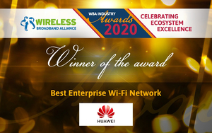 """华为AirEngine Wi-Fi 6荣获无线宽带联盟2020""""最佳企业Wi-Fi网络奖"""",花粉头条-花粉俱乐部"""