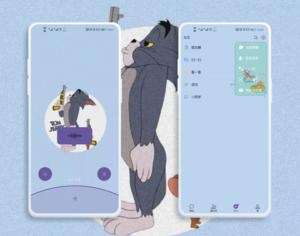 微信模块【猫和老鼠】适配7.0.17-20,华为主题-花粉俱乐部