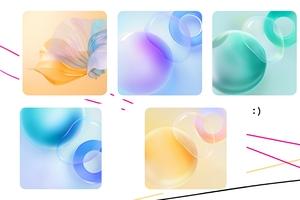 华为Nova8系列,三星Galaxy S21系列, OPPO A15内置壁纸分享,主题爱好者-花粉俱乐部