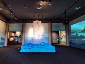 海南南海博物馆•展厅(局部),花粉随手拍-花粉俱乐部