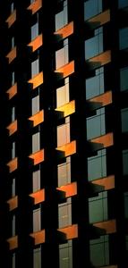 夕阳下的大厦。,花粉随手拍-花粉俱乐部