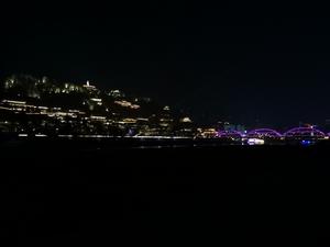 兰州白塔山夜景,花粉随手拍-花粉俱乐部