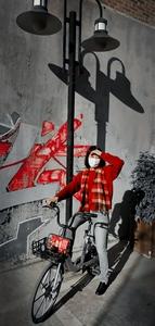 红衣少妇。,花粉随手拍-花粉俱乐部