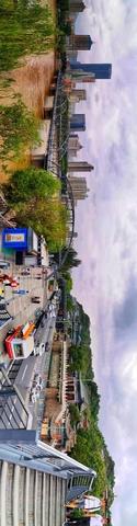 【HUAWEI P30 pro随拍】六月的中山铁桥与白塔山,花粉随手拍-花粉俱乐部