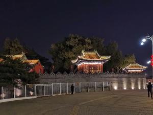 故宫夜景,随手拍-花粉俱乐部