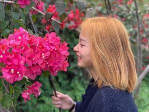 【花粉女生】升温辣,粗门晒太阳,花粉随手拍-花粉俱乐部