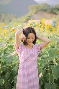 【花粉女生】向日葵,花粉随手拍-花粉俱乐部