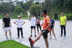 【成都、深圳活动回顾】#只管去跑# 运动健康户外跑步特别课程——规避跑步误区,运动健康-花粉俱乐部