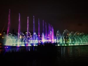 梅溪湖音乐喷泉,花粉随手拍-花粉俱乐部