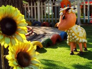 游乐场里欢乐多,花粉随手拍-花粉俱乐部
