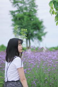【花粉女生】夏季的紫色浪漫,花粉随手拍-花粉俱乐部
