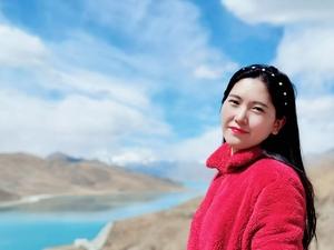 【花粉女生】西藏浪卡子县羊卓雍措的美一生难忘,花粉随手拍-花粉俱乐部