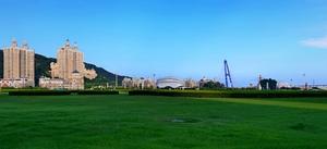亚洲最大广场星海广场风光一隅,花粉随手拍-花粉俱乐部