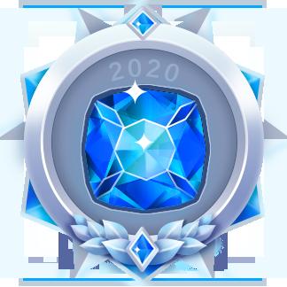 2020年度技术花粉铂金勋章
