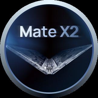 华为新一代折叠屏Mate X2专属勋章