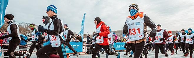 【荣耀冰上马拉松】战斗民族冬天跑步的正确打开方式,全球资讯-花粉俱乐部