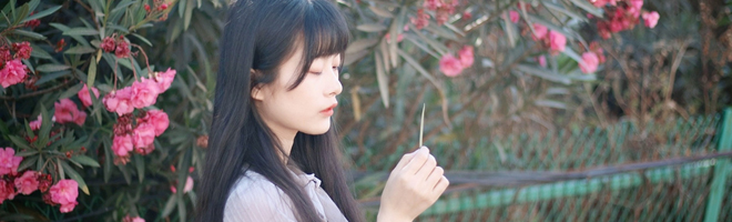 摄影 | 小仙女置身花海新造型出镜,是这个秋日的复古温柔!,花粉随手拍-花粉俱乐部