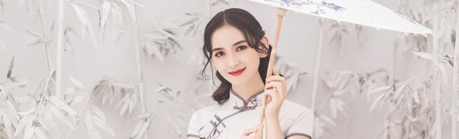 摄影 | 小仙女一身旗袍端庄优雅,这是从民国大上海穿越来的吗?,花粉随手拍-花粉俱乐部