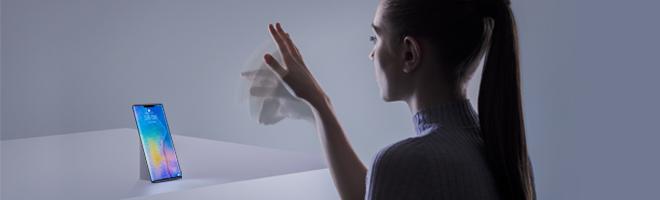 华为Mate30系列AI隔空操控这么玩,秀出隔空手势神操作!,华为Mate30系列-花粉俱乐部