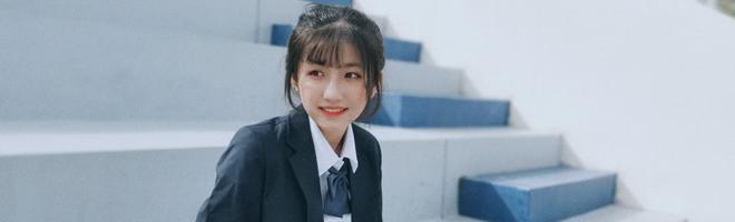 摄影 | 当荣耀20S与JK制服相遇校园,永不过期的18岁!,花粉随手拍-花粉俱乐部