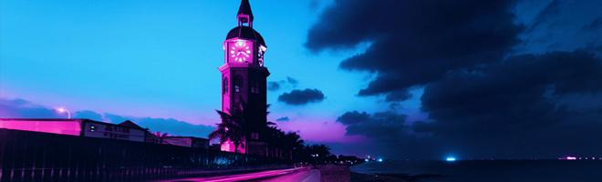 摄影 | 流光溢彩,科幻世界般的城市夜景,这样的镜头才值得留下!,花粉随手拍-花粉俱乐部