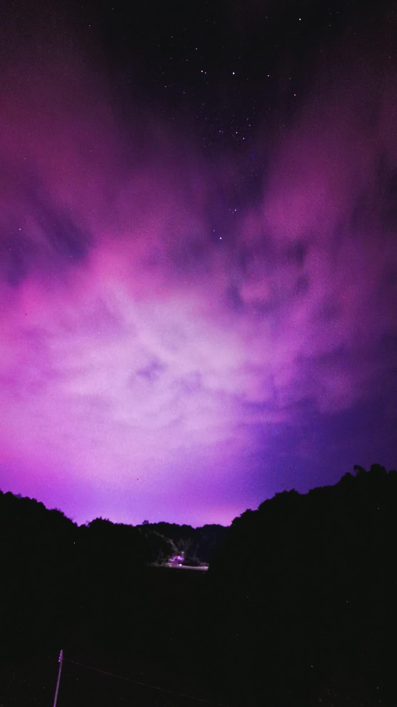 华为的幻夜星河延迟摄影,华为Mate30系列-花粉俱乐部