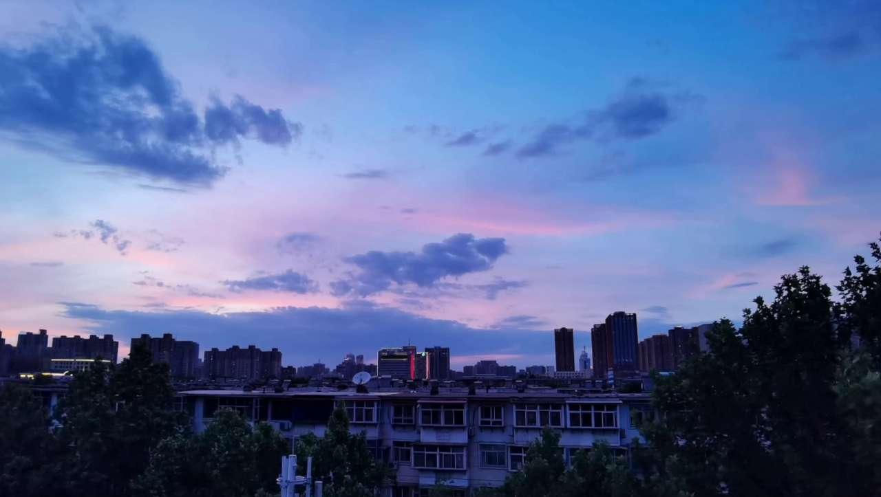 漂亮的傍晚时分,荣耀V30系列-花粉俱乐部