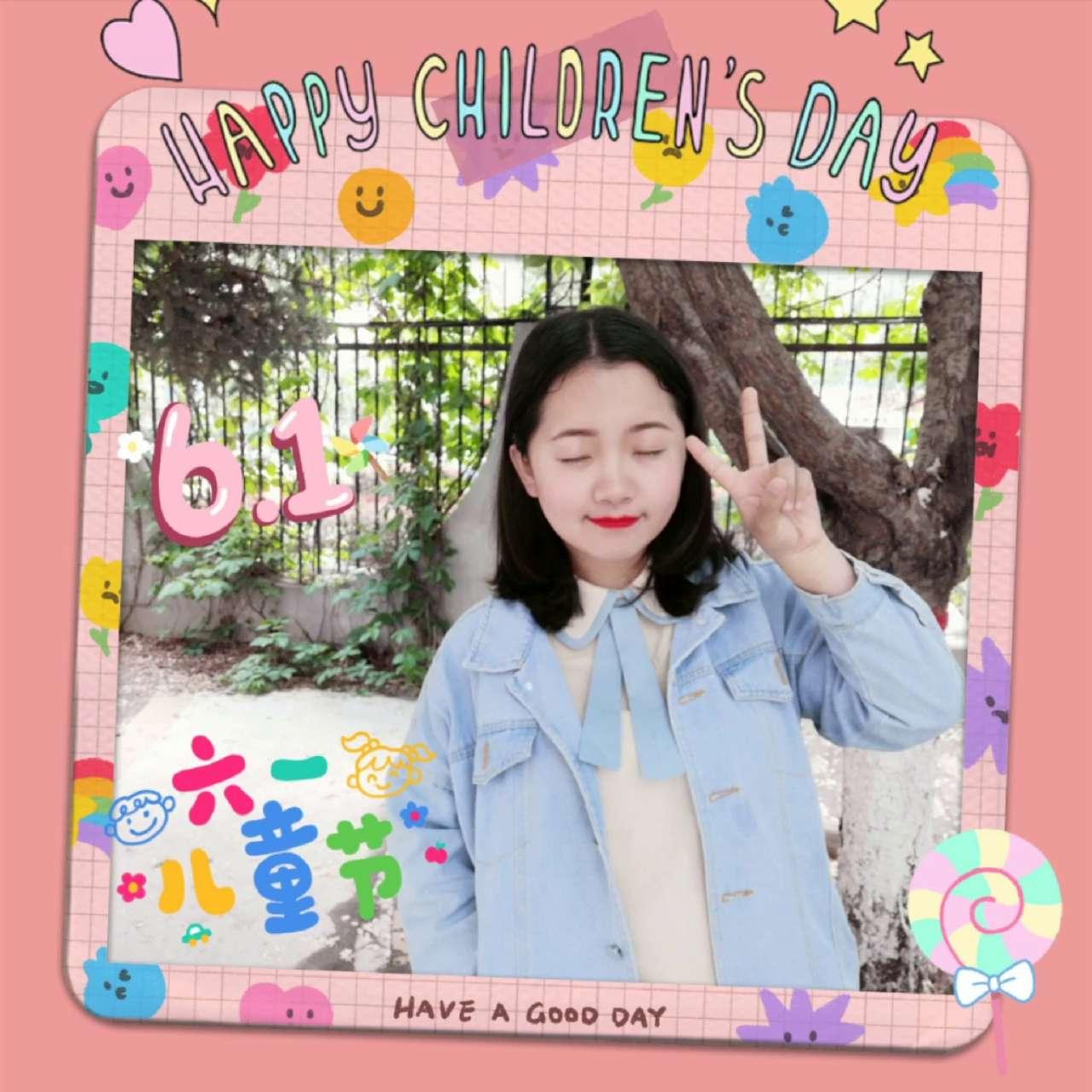 【花粉女生】六一儿童节P图教程,荣耀30系列-花粉俱乐部