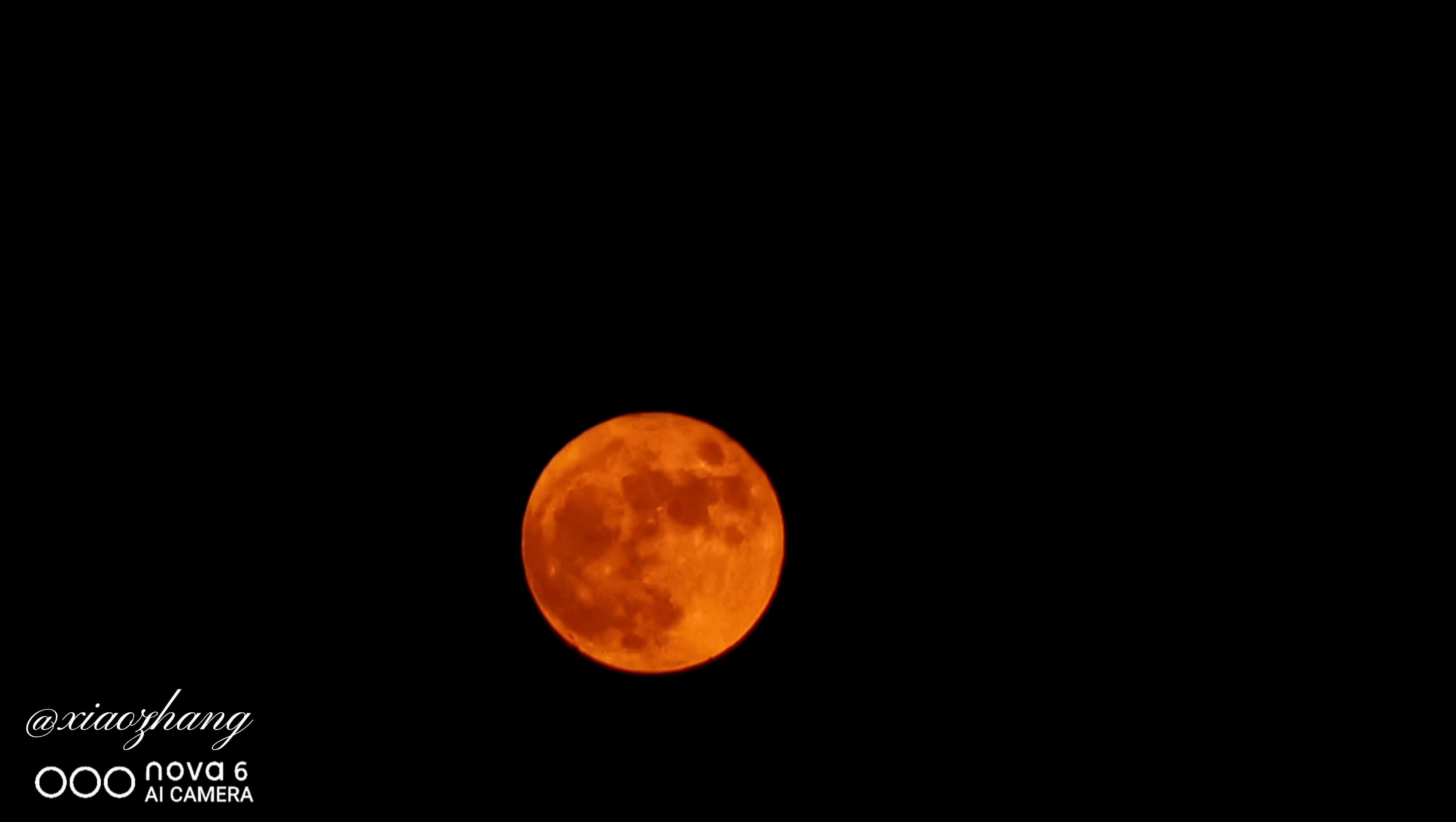 十五的月亮(中元节)延时——nova6,华为nova6系列-花粉俱乐部