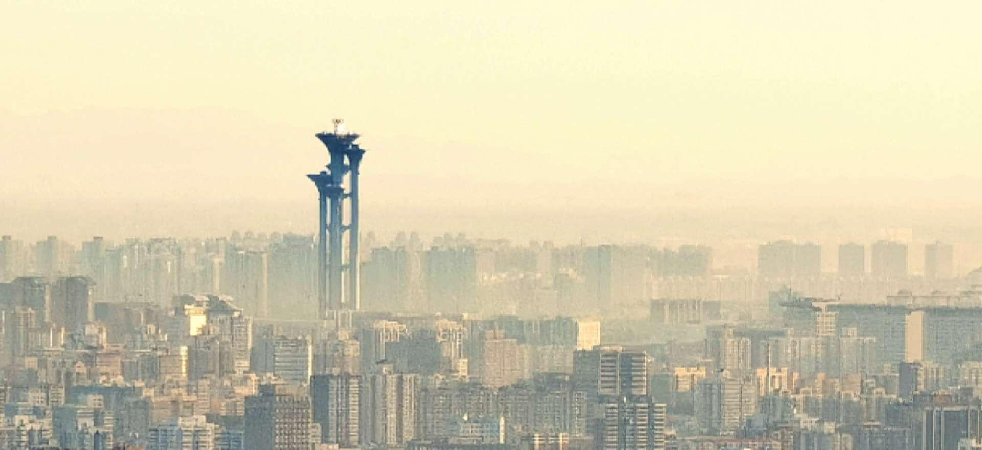 塔上瞰北京·双奥之城|距2022年北京冬奥会倒计时500天,花粉随手拍-花粉俱乐部