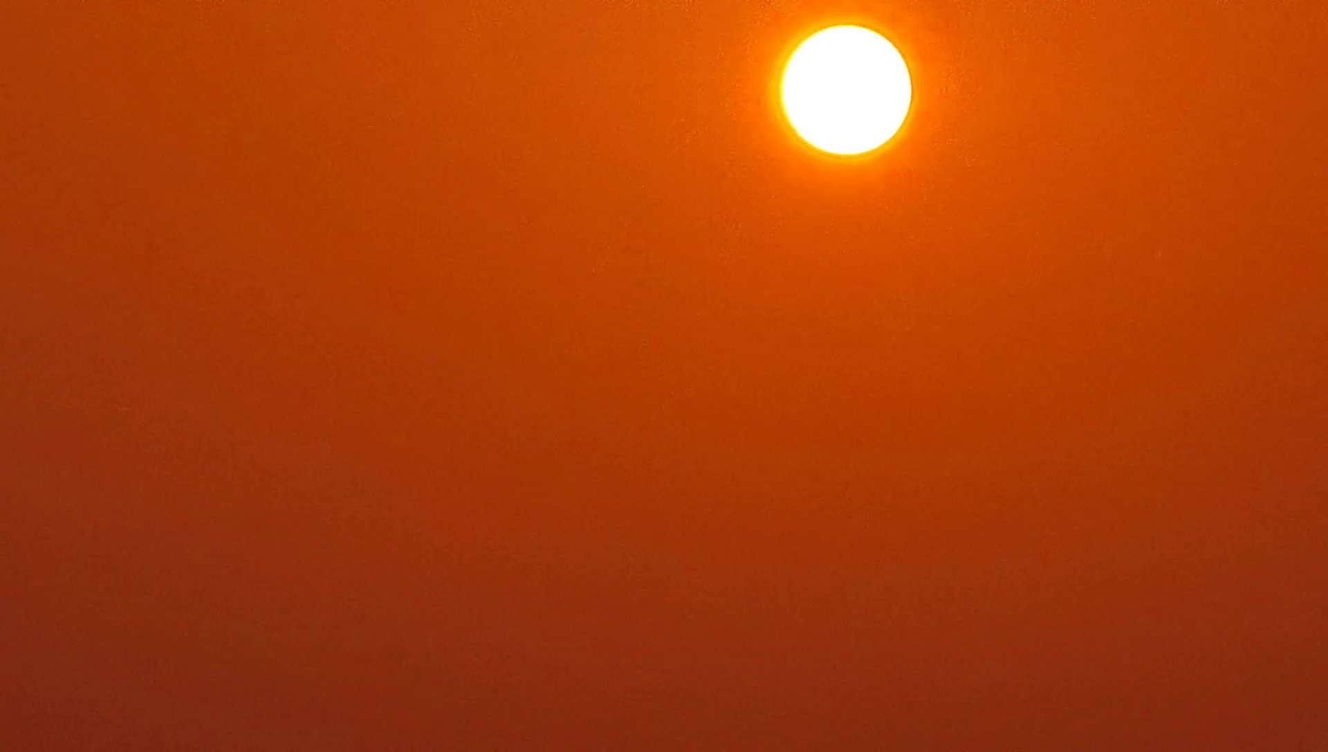 塔上瞰北京·雾霭中的日出|华为P40pro延时摄影,花粉随手拍-花粉俱乐部