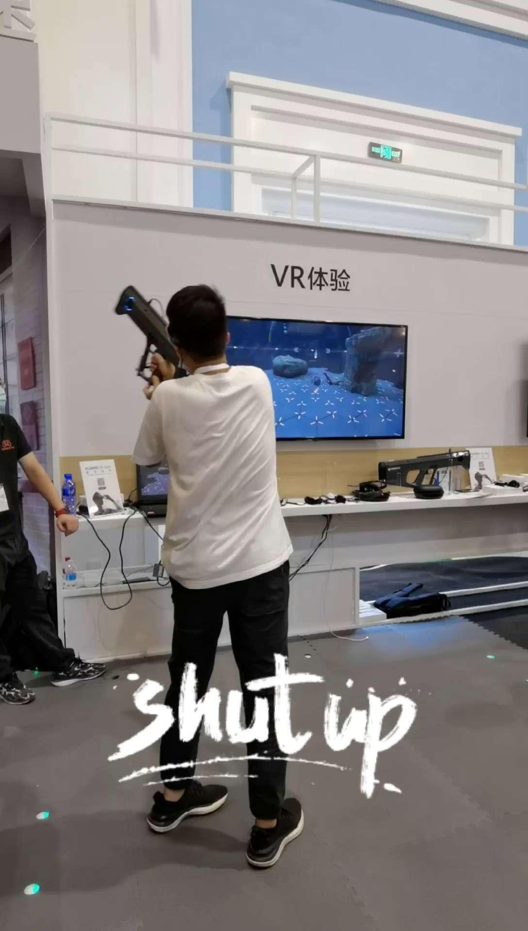 体验真枪实弹的VR射击游戏~,AR&VR-花粉俱乐部