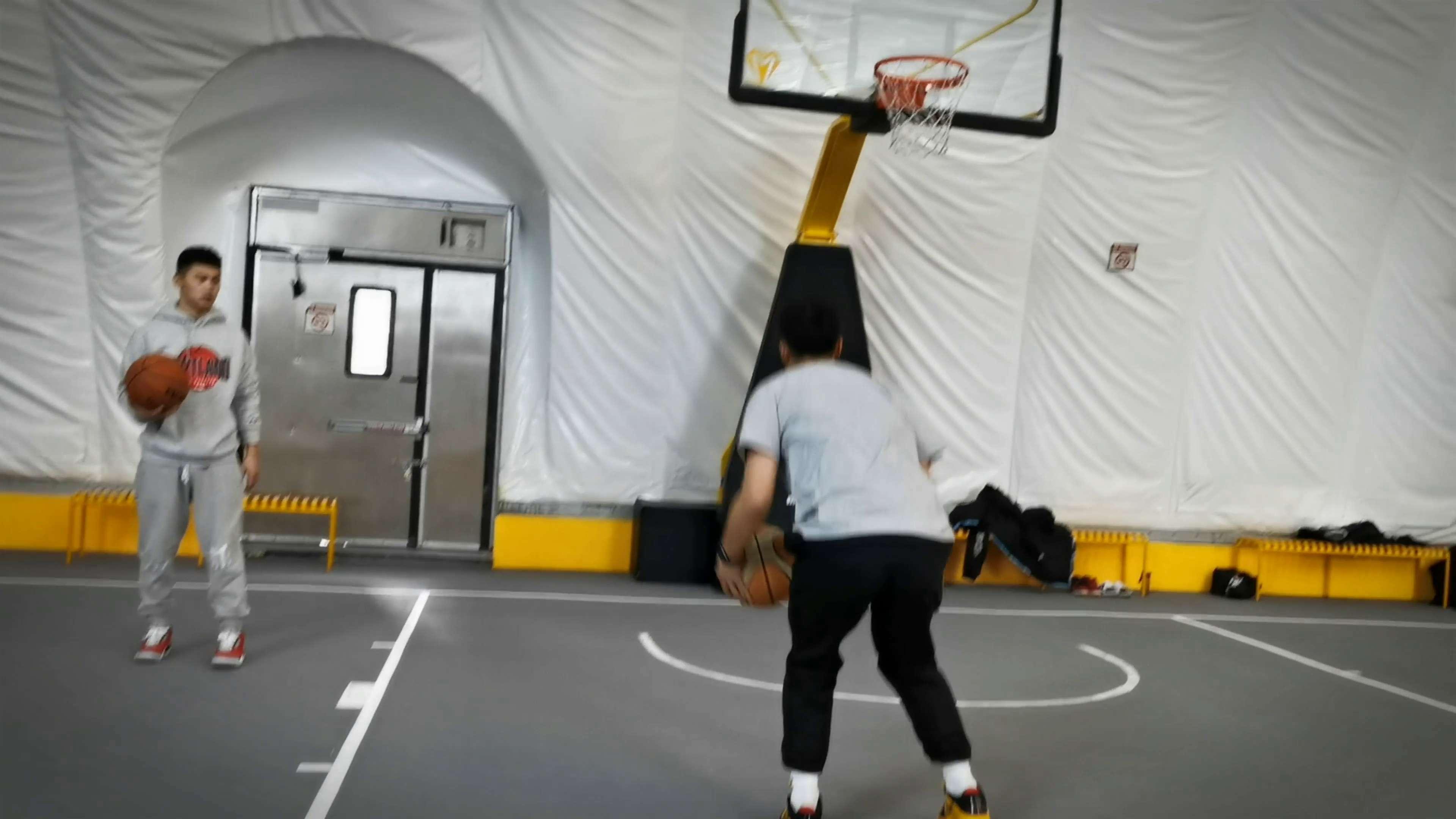 Mate40Pro拍摄篮球训练篇(三),花粉随手拍-花粉俱乐部