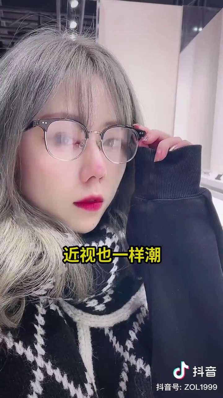 小姐姐戴着这么好看,你会选择哪款呢。,HUAWEI-GENTLE MONSTER智能眼镜-花粉俱乐部